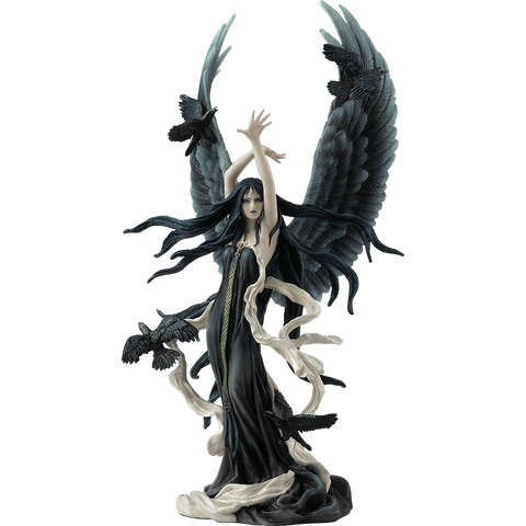 Fairy of Ravens Statue by Nene Thomas
