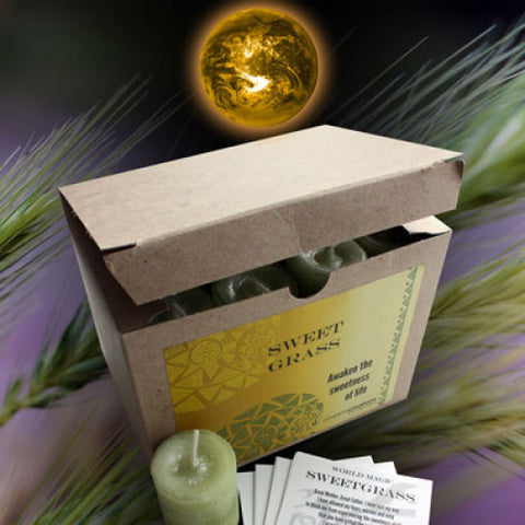 Sweet Grass World Magic Votive