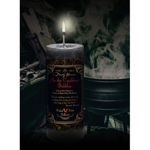 As the Cauldron Bubbles Limited Edition Candle