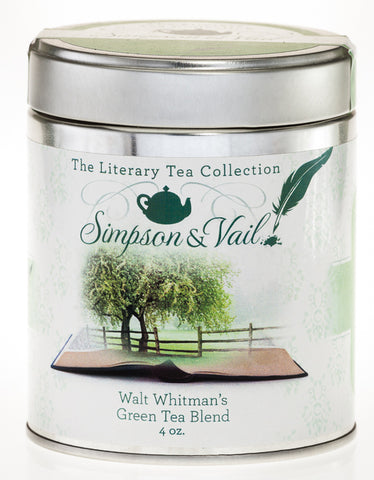 Walt Whitman's Organic Green Tea Blend