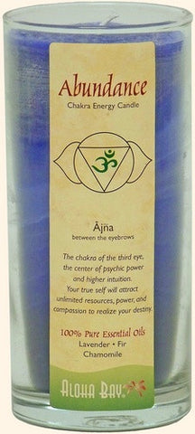Abundance - Anja Chakra Third Eye Jar Candle 11 oz