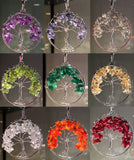 New! Chakra Tree of Life wire wrap Pendants! - Cast a Stone