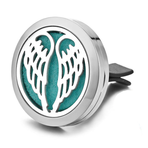 Angel Wings Car Diffuser Aromatherapy Locket