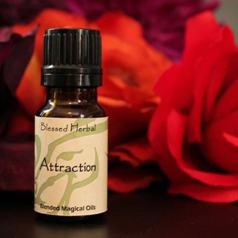 Attraction/Love Blessed Herbal OIl - Cast a Stone