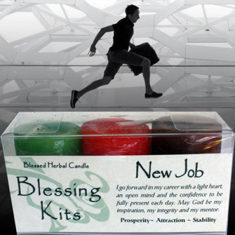 New Job Blessing Kit - Cast a Stone