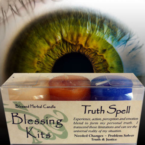 Truth Spell Blessing Kit - Cast a Stone