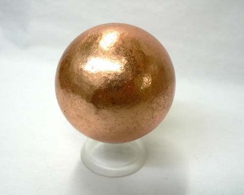 "Solid Copper Sphere - 2"" - Cast a Stone"