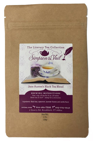 Jane Austen's Black Tea Blend - 1oz