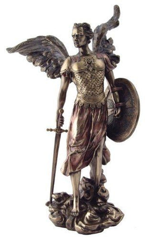 Archangel Michael Statue - 13.5 Inches