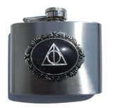 Fun & Funky Flask Collection with real Stone