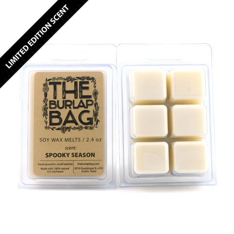 spooky season soy wax melts - LIMITED EDITION