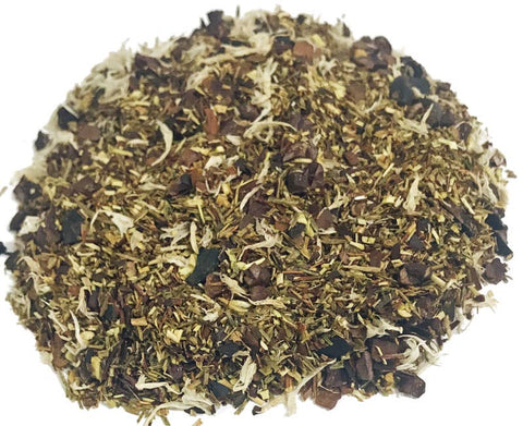 Rooibos White Chocolate Peppermint - Herbal Tea - 4oz Tin