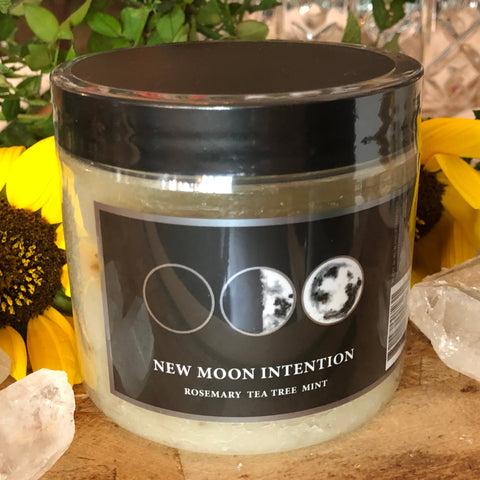New Moon Intention 16oz Bath Salt