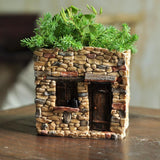 Fairy House Functional Flower Pot