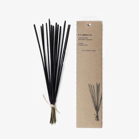 No. 11: Amber & Moss Charcoal Incense sticks