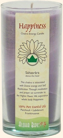 Happiness - Sahasrara Crown Chakra Jar Candle 11 oz