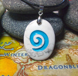 World of Warcraft inspired Hearthstone engraved pendant with chain or cord  - Guy or Girl necklace!