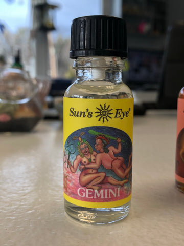 Sun's Eye Gemini Zodiac Oil 1/2oz