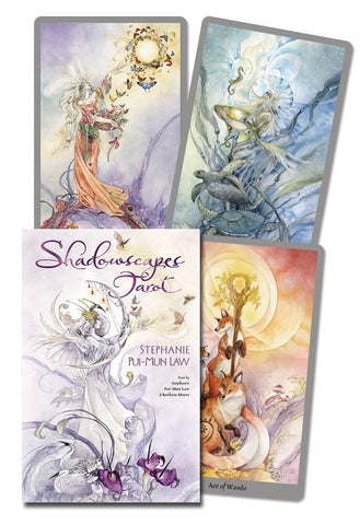 Shadowscapes Tarot by Stephanie Pui-Mun Law & Barbara Moore - Cast a Stone