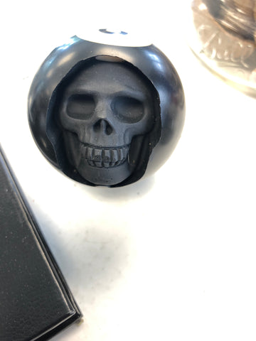 Eight ball skull