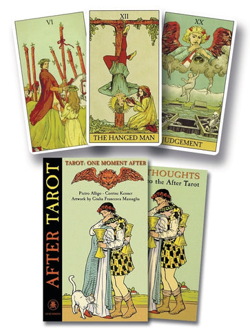 After Tarot Kit by Pierre Alligo & Corrine Kenner - Cast a Stone