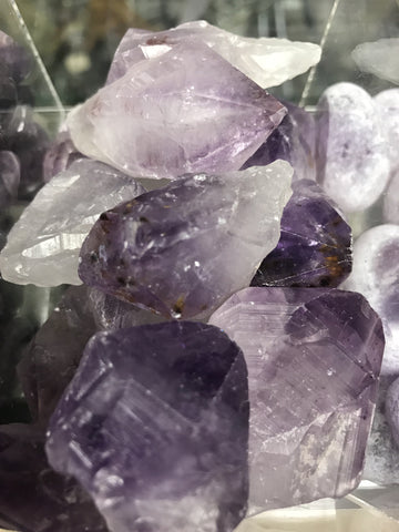 Amethyst points natural single gemstone - Cast a Stone