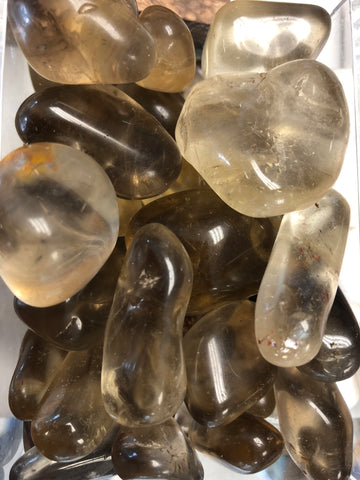 Congo Citrine Tumbled Gemstone