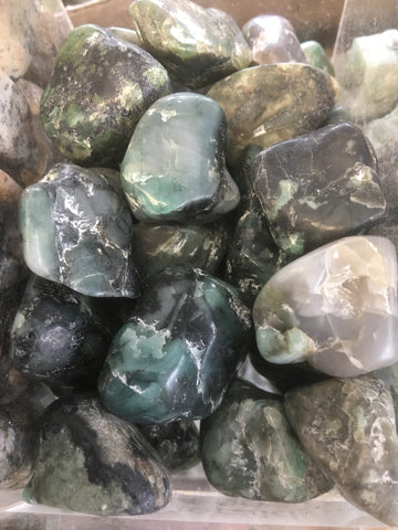 Emerald Tumbled Gemstone