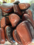 Red Tigereye Tumbled Gemstone