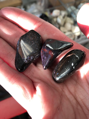 Sugilite Tumbled Gemstone