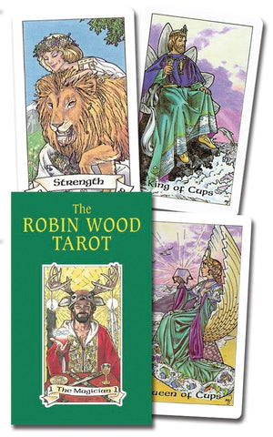 The Robin Wood Tarot by Robin Wood - Cast a Stone