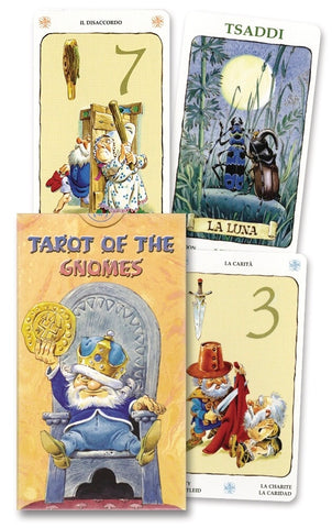 Tarot of the Gnomes by Lo Scarabeo - Cast a Stone
