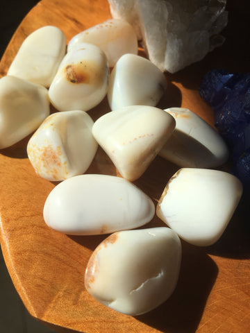 Opal Tumbled Gemstone