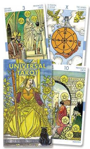 Universal Tarot Deck by Lo Scarabeo - Cast a Stone
