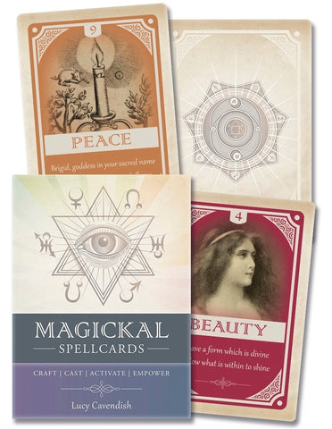 Magick Spellcards: Craft - Cast - Activate - Empower by Lucy Cavendish - Cast a Stone