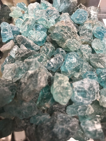 Apatite raw natural gemstone - Cast a Stone