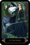 Dreams of Gaia Tarot by Ravynne Phelan - Cast a Stone