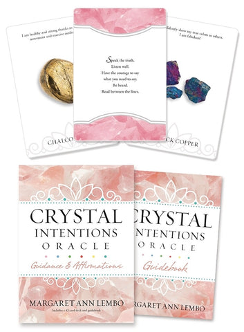 Crystal Intentions Oracle by Margaret Ann Lembo - Cast a Stone
