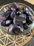 Blue Goldstone Tumbled Gemstone