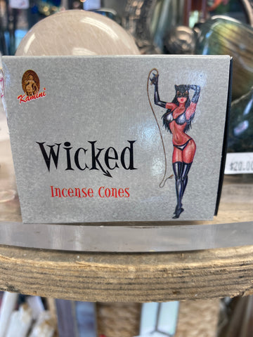 Wicked Incense Cone 10 pack