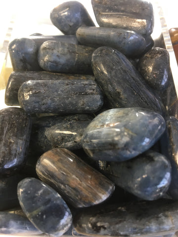 Blue Kyanite Tumbled Gemstone