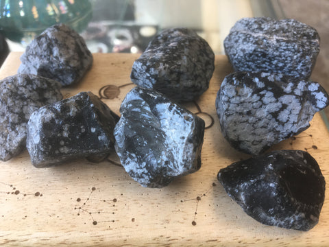 Snowflake Obsidian Natural Gemstone