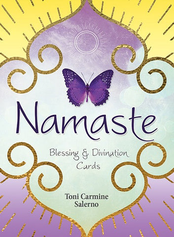 Namaste: Blessing & Divination Cards by Toni Carmine Salerno - Cast a Stone