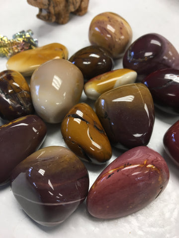 Mookaite Tumbled Gemstone