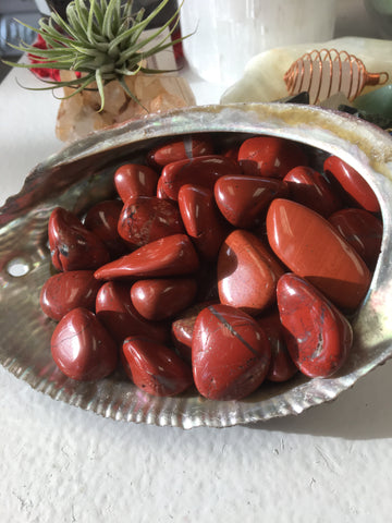 Red Jasper Tumbled Gemstone