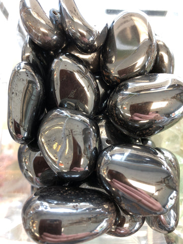 Hematite Tumbled Gemstone