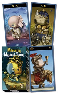 Mibramig Magical Tarot - Cast a Stone