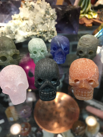 Matte Finish Mini Skulls