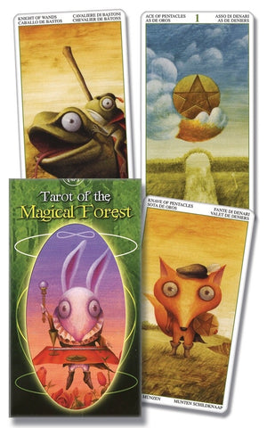 Tarot of the Magical Forest by Lo Scarabeo - Cast a Stone
