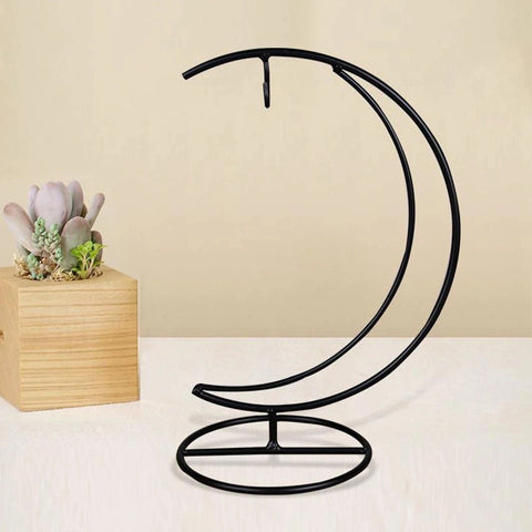 Moon Shaped Iron Stand